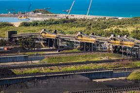 Hay Point Coal Terminal in Queensland