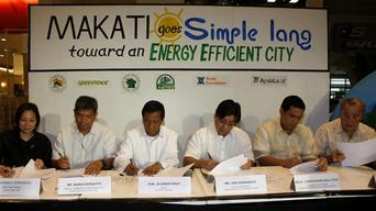 Energy Efficient Makati in the Philippines