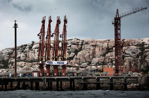 Activists Block Oil Tanker Heading to Preem's Refinery in Lysekil, Sweden