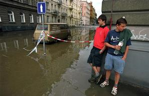 City Floods Prague
