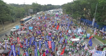 COP21: Climate March in the Philippines