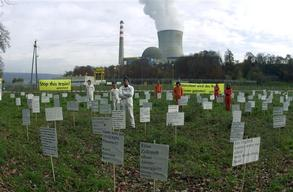 Nuclear Action at Nuclear Power Plant Leibstadt