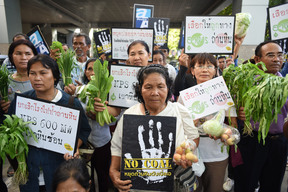 Khao Hin Son Anti-Coal Network Protest in Thailand