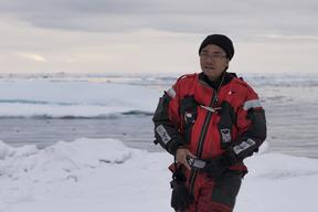 Yeb Saño Filipino Climate Change Commissioner in the Arctic