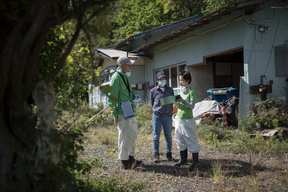 Radiation Survey of Mr. Toru Anzai's House in Iitate