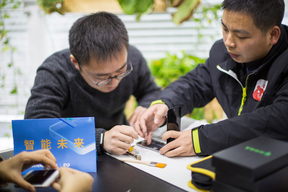 Greenpeace Smartphone Repair Cafe in Beijing