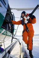 Scientist Fiamma Straneo in Greenland