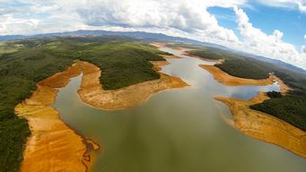 Serra Azul Reservoir in Brazil