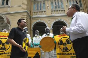Action against Thailand's Future Nuclear Plans
