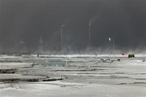 Coal Ash Pond in China