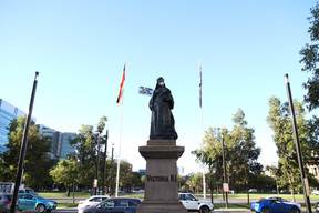 Queen Victoria Stands up for Clean Air in Port Augusta