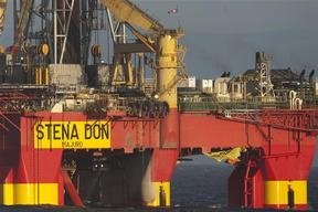 Cairn Energy Oil Rig Stena Don