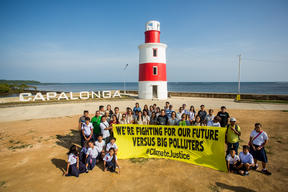 Climate Justice Photo Activity in Capalonga