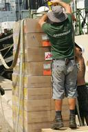 Loading of First Shipment - Greenpeace delivers supplies for MSF - 2006
