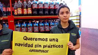 Actions against Plastics at Supermarkets in Mexico - B-roll