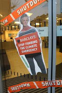 Action against Barclays Bank in London, Kings Road