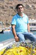 Small Scale Fisherman Dimitris in Mykonos Island