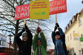 COP21: Climate March in Visby