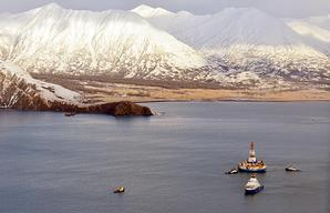 Kulluk Rig Assessment off Kodiak Island