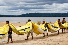 Greenpeace Joins the Munduruku to Protest Damming of Tapajós River