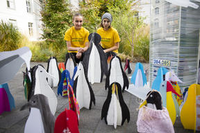 Protect the Antarctic Petition Delivery in Berlin