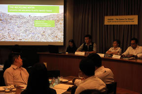 ASEAN No Space for Waste: Health & Environment Not for Sale - Press Conference in Bangkok