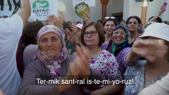 Protest at EIA Meeting in Kırklareli (WEB VIDEO)