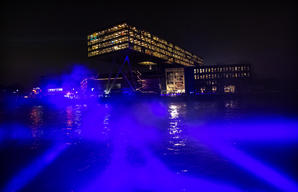 Plastic Monster Rave at Unilever HQ in Rotterdam