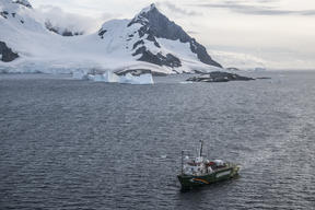 Errera channel in the Antarctic
