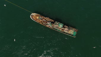 Chinese Flagged Trawler Lu Rong Yu 1168 in Mauritanian Waters
