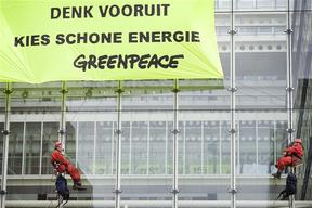 Nuclear Action at Ministry of VROM in The Hague