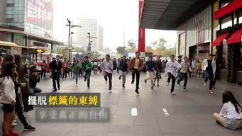 Break Free from Materialism Flash Mob in Taipei - Web Video (Chinese Version)