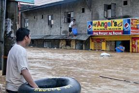 Flooding in Metro Manila