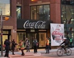 Holiday Card Delivery to Coca-Cola's HQ in Toronto