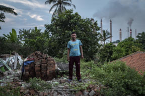 The Life with Coal Power Plants in Suralaya, Indonesia