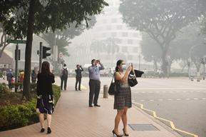Singapore Haze Pollution Hits an All-Time High