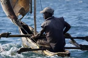 Small-scale Fisherman in Mozambique