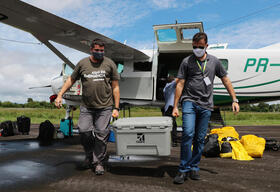 Wings of Emergency Project in the Amazon in Brazil