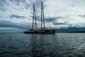 Rainbow Warrior Arrives at Manokwari, West Papua