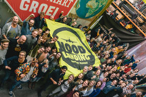 """Night of the Action"" at Greenpeace Netherlands Warehouse in Amsterdam"
