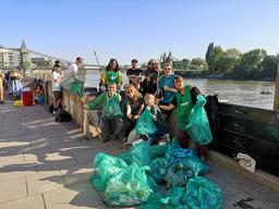 Local Groups  Clean up in  Kensington, West London