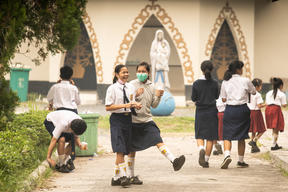 School Children and Haze in Central Kalimantan