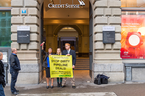Secwepemc and Ktunaxa Members against Credit Suisse in Zurich