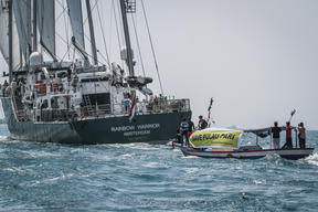 Save Pari Island Rainbow Warrior Activity in Indonesia