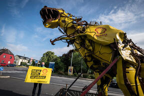 Protest against State Aid to the Oil, Gas and Coal Industry in Germany