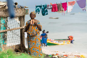 Mbayang Diop, Wife of Lost Fisherman, in Senegal