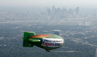 Airship Message for Exxon Meeting in Dallas