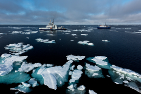 Seismic Blasting off North-East Greenland