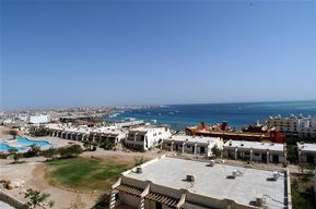 Coastline of Hurghada - Red Sea Coastal Development in Egypt - 2006