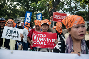Cebu Communities Join the Global Break Free Protests against Fossil Fuels